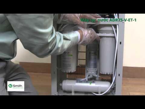 Hướng dẫn lắp đặt máy lọc nước A O Smith - Chuẩn