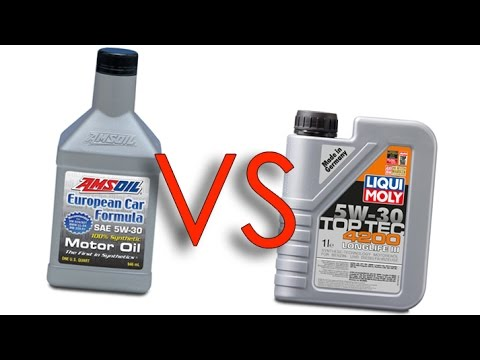 amsoil 5w30 european car formula vs liqui moly 5w30 4200. Black Bedroom Furniture Sets. Home Design Ideas