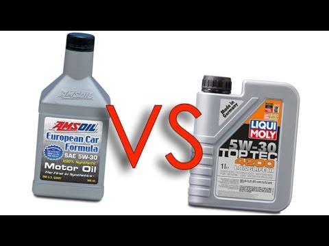 amsoil 5w30 european car formula vs liqui moly 5w30 4200. Black Bedroom Furniture Sets. Home Design Ideas