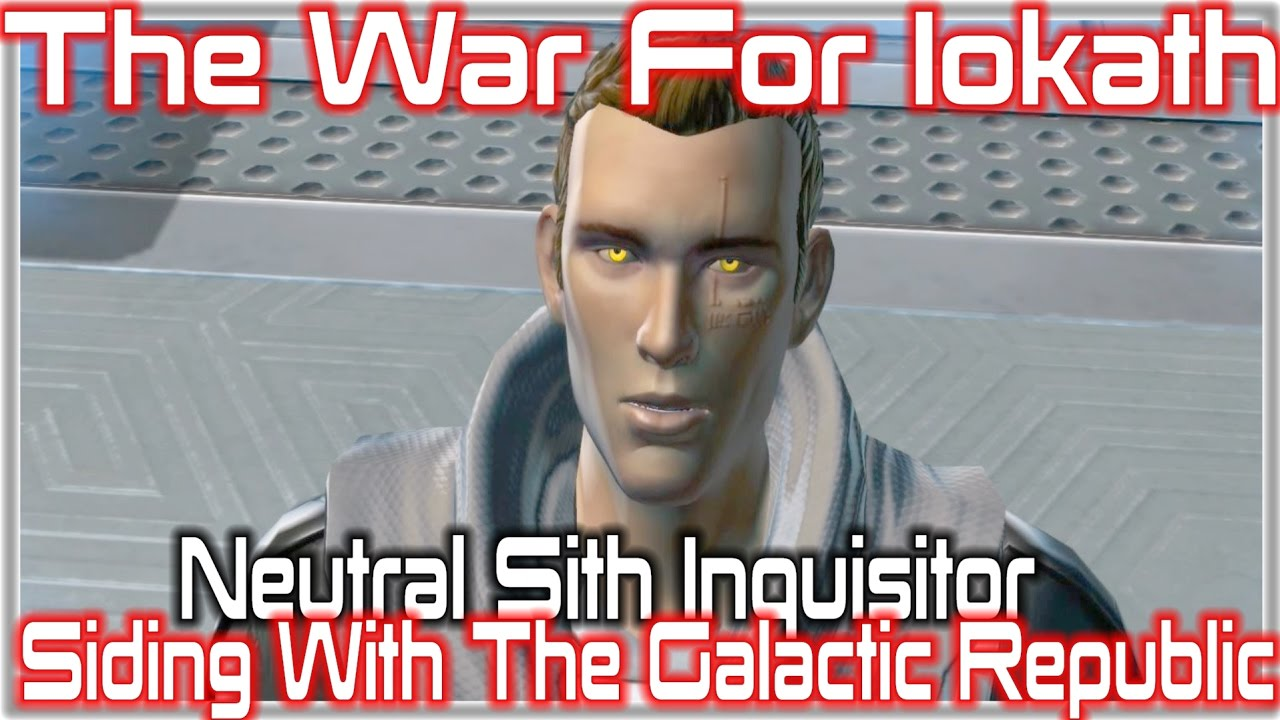 Swtor The War For Iokath Siding With The Galactic