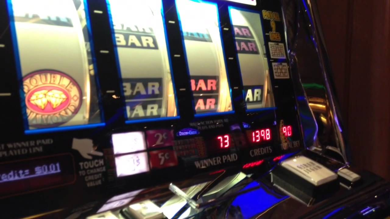 Triple double diamond slot machine wins