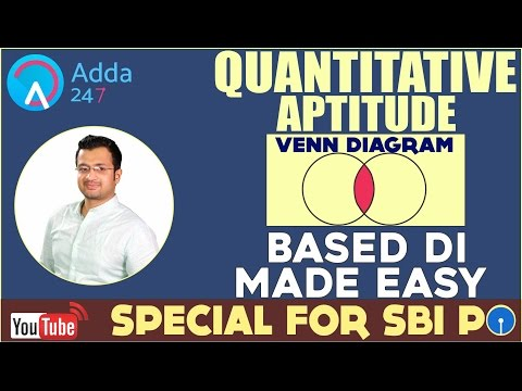 Venn Diagram Based DI Made Easy For SBI PO 2017