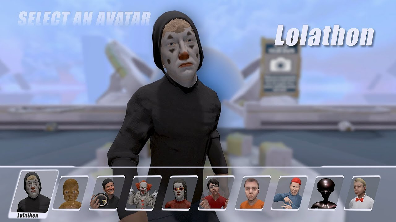SELECT YOUR AVATAR - VRChat