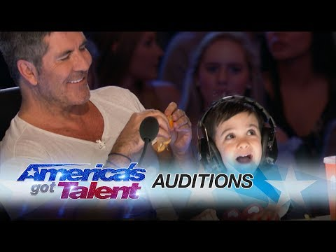 Simon Cowell Buzzes A Bunch Of Dancers - America's Got Talent 2017