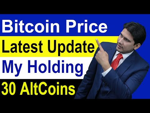 Bitcoin Price Latest Update And My Holding 30 AltCoins in Hindi