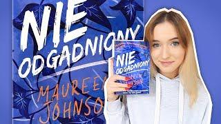 książka, którą poleca JOHN GREEN  NIEODGADNIONY - Maureen Johnson