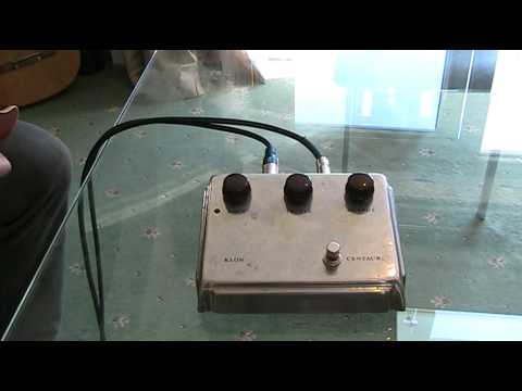 A review of the most desirable pedal on the planet, The Klon Centaur Overdrive Pedal.