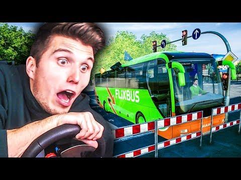 Ärger mit französischen AUTOFAHRERN  ✪ Fernbus Simulator