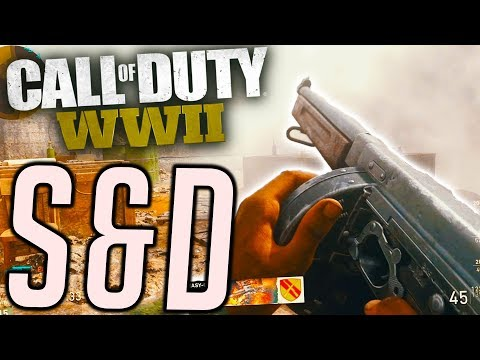 RON IS MAKING ME PLAY SEARCH AND DESTROY - CALL OF DUTY WW2