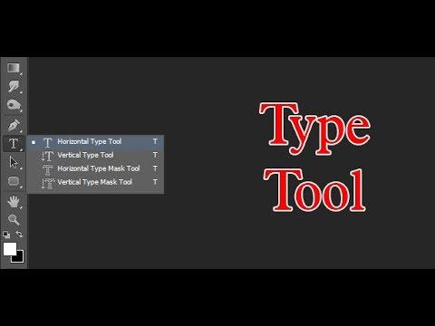 Viết Chữ Trong Photoshop Bằng Công Cụ Type Tool | Công Cụ Photoshop