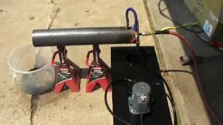 Cooking | Homemade Babington Ball Waste Oil Burner Boiler Furnace Part 1