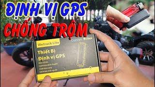 Trên Tay Định Vị GPS siêu Nhỏ Gọn - Giám Sát, Chống Trộm ÔTÔ XE Máy
