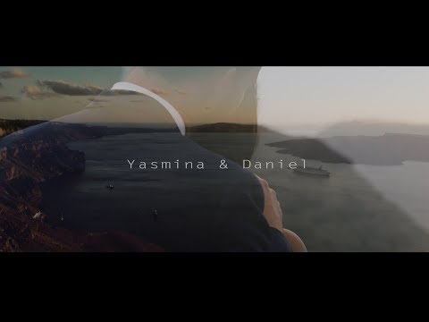 Yasmina & Daniel Wedding  Le Ciel Santorini | Rise in Love