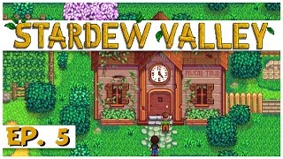 Stardew Valley - Ep. 5 - The Community Center! - Let