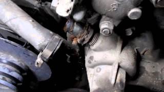 волга ,двигатель 402 меняем помпу,как поменять помпу №1