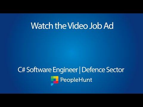 C# Software Engineer | Defence Sector