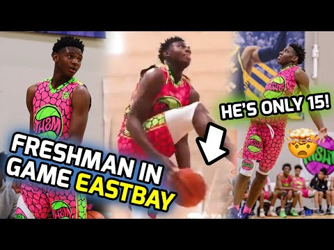 This 15 Year Old Threw Down An In Game REVERSE EASTBAY! Elijah Fisher Takes Over MSHTV Camp! 🔥