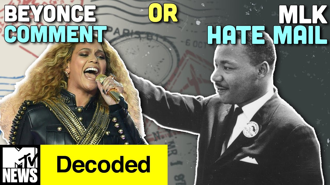 Beyoncé Formation Comment or MLK Hate Mail? | Decoded | MTV News