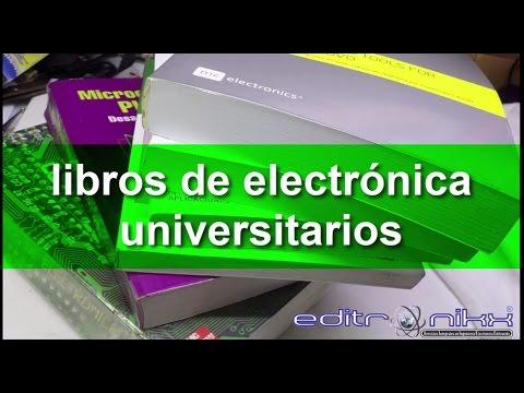 libros de electronica universitarios recomendados