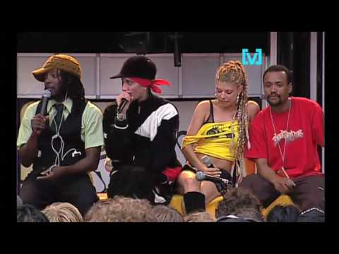Interview: Black Eyed Peas get pumped for BDO 2004