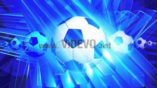 Free Stock Video Download - Abstract Spinning Football - Free Stock Footage