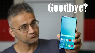 I Said Goodbye to the Galaxy Note 20 Ultra ... And Here Is What Happened