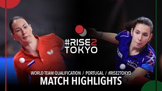 Полина Михайлова vs Laura Gasnier | World Team Qualification 2020 (R32)