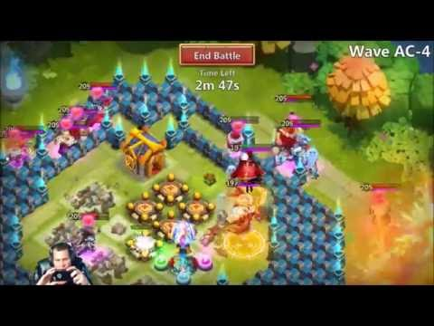 Here Be Monster HBM AC Is Owning Me BRUTAL! Castle Clash