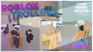 SANDWICHING PEOPLE ON ROBLOX!!! I Roblox Trolling #1