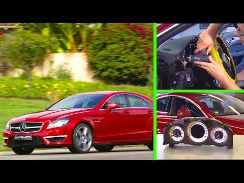 Mercedes Benz — Remove/install instrument cluster (CLS-Class)