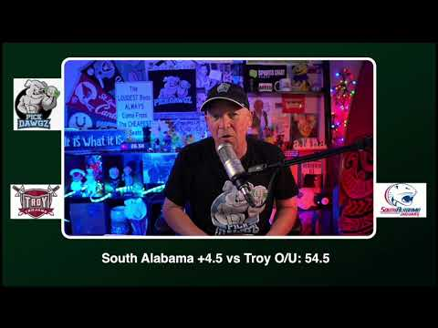 South Alabama vs Troy 12/5/20 Free College Football Picks and Predictions CFB Tips