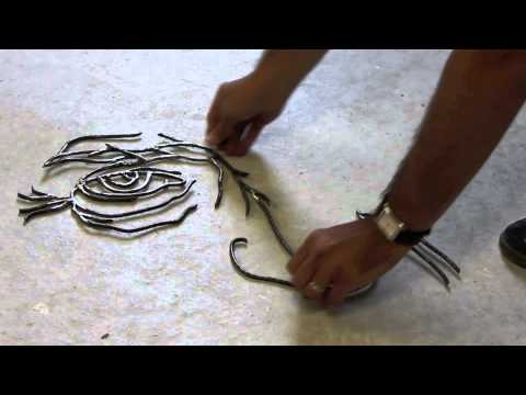 Steel sculpture by Gavin Worth
