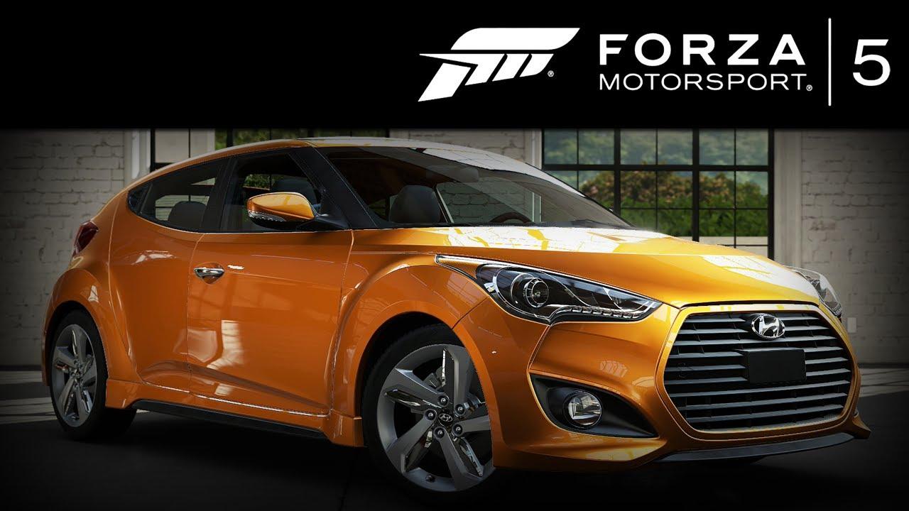 Forza 5 Hyundai Veloster Turbo 2013 Forzavista 1 Lap
