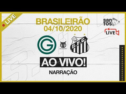 🔴 AO VIVO: GOIÁS 2 x 3 SANTOS | BRASILEIRÃO (04/10/20)