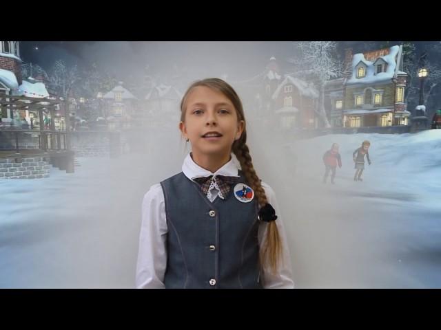 Изображение предпросмотра прочтения – ПолинаВасильева читает произведение «Холод ночи; смёрзлись лужи…» В.Я.Брюсова