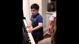"Ethan W plays ""Piano Man"" by Billy Joel"