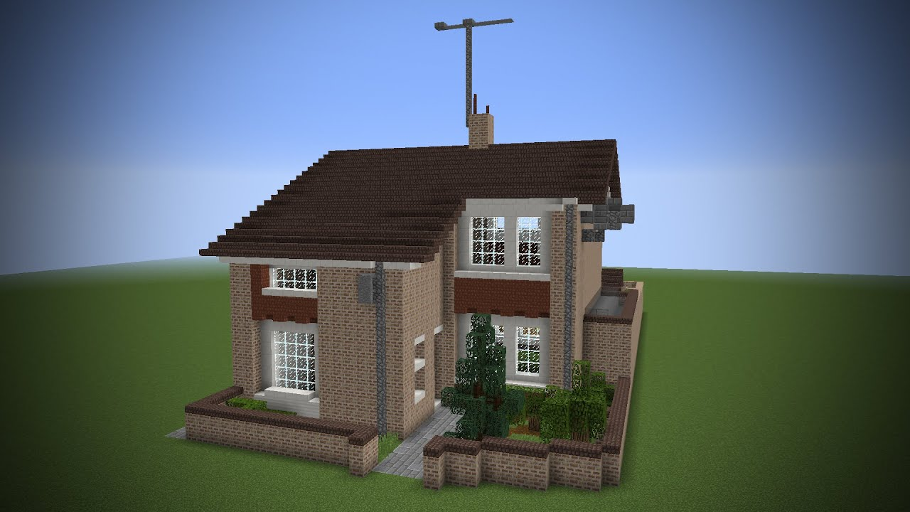 Building my real house in minecraft youtube for Make my house