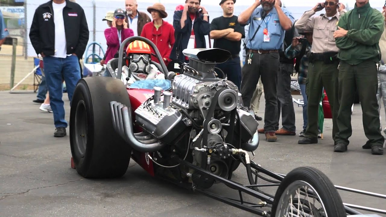 Front Engine Dragster Running Youtube