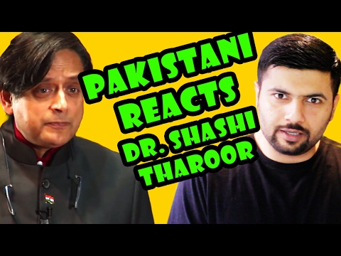 Pakistani Reacts to Dr. Shashi Tharoor Britain Does Owe Reparations