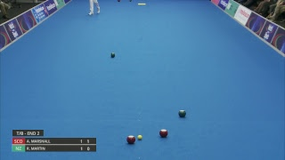 Just. 2019 World Indoor Bowls Championships: Day 4 Session 4