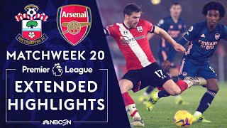 Southampton v. Arsenal | PREMIER LEAGUE HIGHLIGHTS | 1/26/2021 | NBC Sports