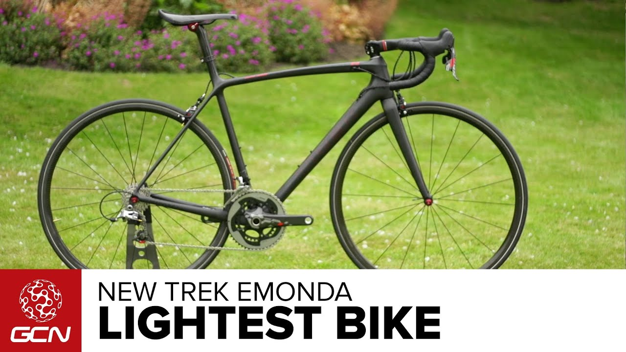 New Trek Emonda Lightest Production Road Bike Youtube