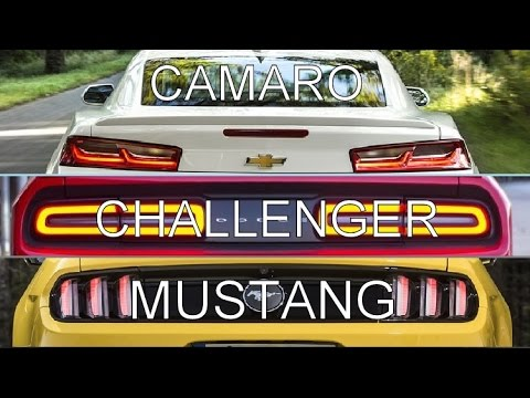 2016 camaro vs challenger vs mustang youtube. Cars Review. Best American Auto & Cars Review