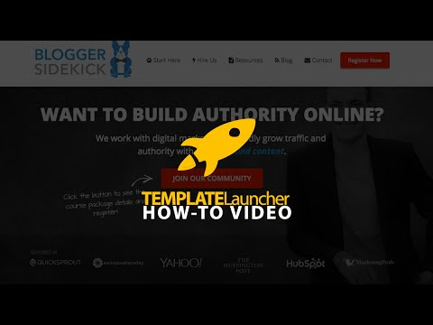 Blogger Sidekick - Building Authority Brands With Content