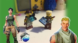 LEGO Fortnite Default Skins Minifigure Tutorial