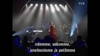 Nightwish - Sleepwalker (Live Finnish ESC 2000) [Lyrics & HD]