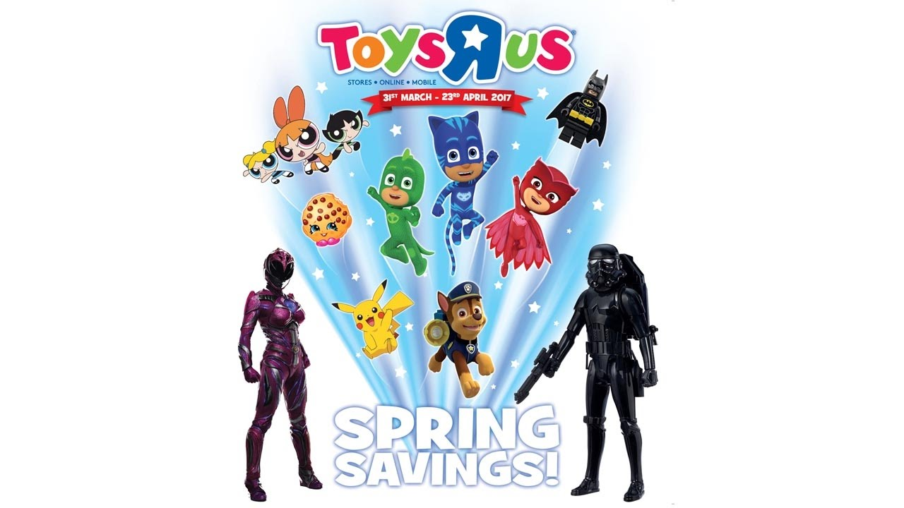 Spring Savings Catalogue April 2017 Toys R Us Uk Youtube