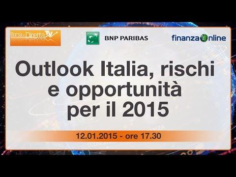 Outlook Italia, rischi e opportunità per il 2015