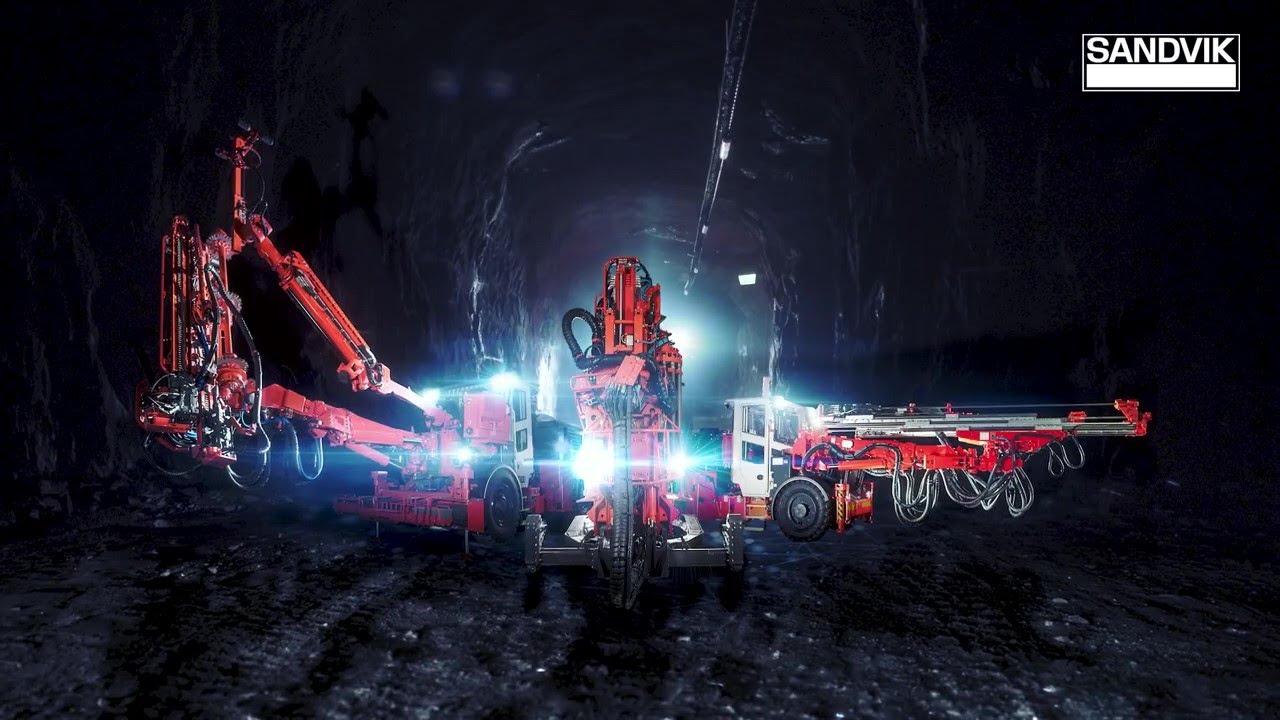 Sandvik Underground Drilling BEV (Battery Electric Vehicle) Offering