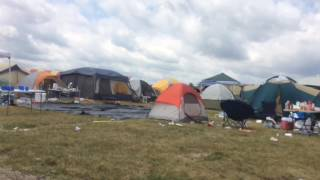 A trip through the MIS infield during the Faster Horses Festival